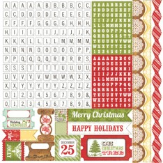 Наклейки This & That Christmas Alpha, Echo Park, 30х30 см, TTC38015