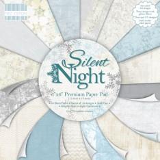 Набор бумаги Silent Night, First Edition, 15 × 15 см, FEXPAD18