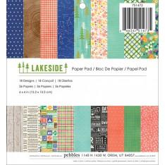 Набор бумаги Lakeside, 15 × 15 см, Studio Calico, 751473
