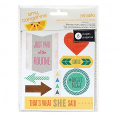 Книга наклеек Cut & Paste, Amy Tangerine, American Crafts, 366066
