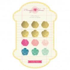 Пластиковые цветы Flea Market, Crate Paper, 683280