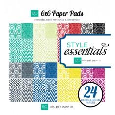 Набор бумаги Style Essentials, 15х15см, Echo Park, SEST13023
