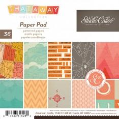 Набор бумаги That-a-Way, 15 × 15 см, Studio Calico, 331528