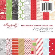 Набор бумаги Magical, 15 × 15 см, Studio Calico, 331570