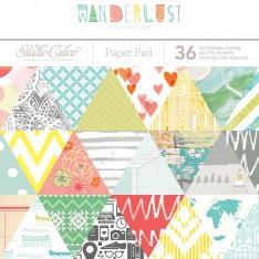 Набор бумаги Wanderlust, 15 × 15 см, Studio Calico, 332225