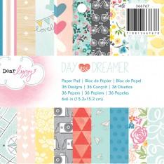 Набор бумаги Dear Lizzy - Daydreamer, 15х15 см, American Crafts, 366767