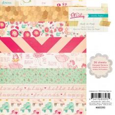 Набор бумаги Oh Darling, 15х15 см, Crate Paper, 683393