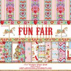 Набор бумаги Fun Fair, 15х15 см, Helz Cuppleditch, HCDP018