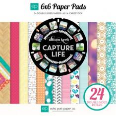 Набор бумаги Capture Life, 15х15см, Echo Park, CL64023