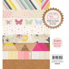 Набор бумаги Notes & Things, 15х15 см, Crate Paper, 683548