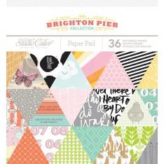 Набор бумаги Brighton Pier, 15х15 см, Studio Calico, 332291