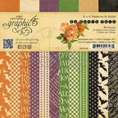 Набор бумаги An Eerie Tale, 15х15 см, Graphic 45, 4500942