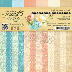 Набор бумаги Precious Memories, 15х15 см, Graphic 45, 4501091