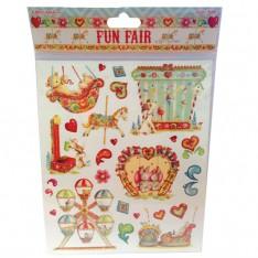 Наклейки Любовь ездить Fun Fair, HELZ Cuppleditch, HCST021