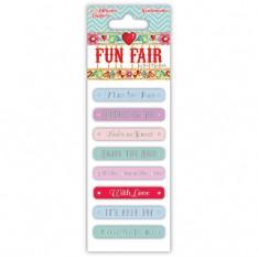 Написи наклейки Fun Fair, Helz Cuppleditch, HCST023
