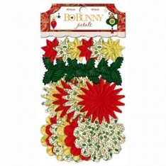 Цветы и лепестки Silver and Gold, BoBunny, 15111061