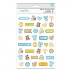 Наклейки Baby Boy Крошка Icon, американские Crafts, 366344