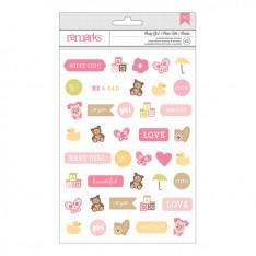 Наклейки Baby Girl Крошка Icon, американские Crafts, 366468