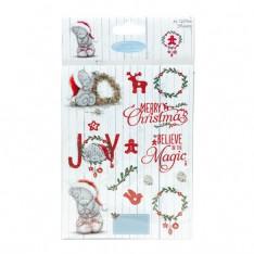 Наклейки с блестками Me To You Christmas, Dovecraft, MYSTK001X15