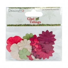 Набор цветов Glad Tidings, Dovecraft, DCFLW003X15