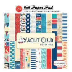 Набор бумаги Yacht Club, 15х15см, Carta Bella, CBYC52015