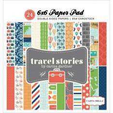 Набор бумаги Travel Story, 15х15см, Carta Bella, CBTS40015