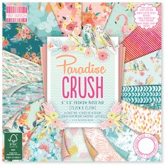 Набор бумаги Paradise Crush, 15 × 15 см, First Edition, FEPAD133