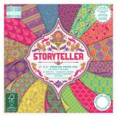 Набор бумаги Storyteller, 15 × 15 см, First Edition, FEPAD139