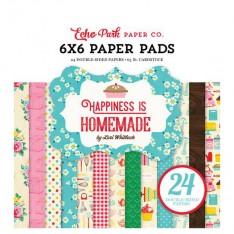 Набор бумаги Happiness is Homemade, 15х15см, Echo Park, HIH118023