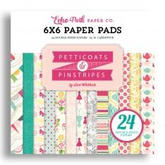 Набор бумаги Petticoats, 15х15см, Echo Park, PC103023