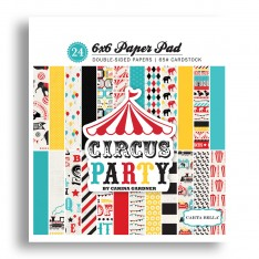 Набор бумаги Circus Party, 15х15см, Carta Bella, CBCP42015