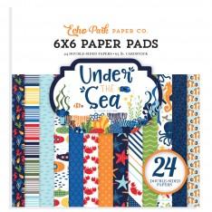 Набор бумаги Under the Sea, 15х15см, Echo Park, US131023