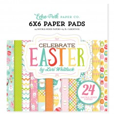 Набор бумаги Celebrate Easter, 15х15см, Echo Park, CE121023