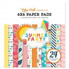 Набор бумаги Summer Party, 15х15см, Echo Park, SP106023