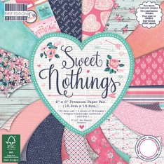 Набор бумаги Sweet Nothings, 15 × 15 см, First Edition, FEPAD145