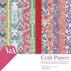 Набор бумаги, V & A, 15 × 15 см, VAPAP003